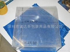 PET plastic folding boxes, plastic drums,transparent box screen