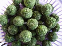 速(冷)凍菠菜球、菠菜葉、菠菜塊、菠菜碎