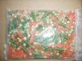 青豆胡萝卜青刀豆混合 2