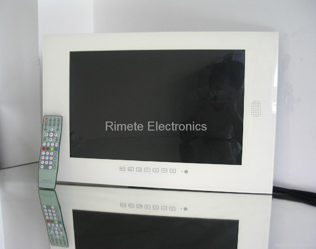 19英寸防水液晶电视 黑白银镜面可选 1