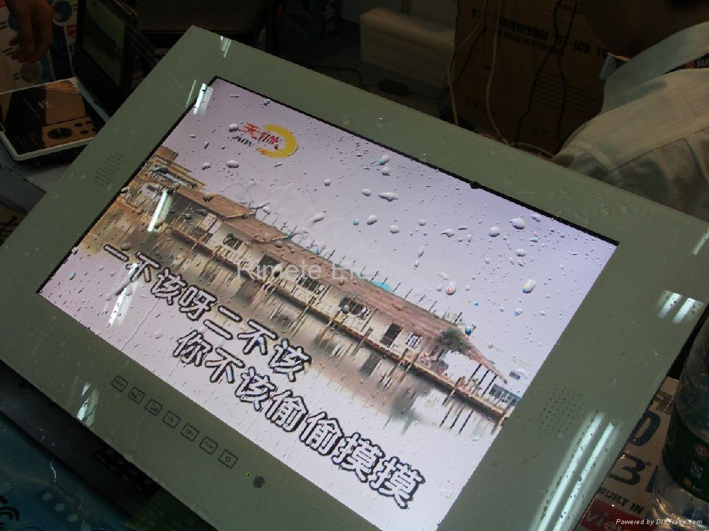 19英寸防水液晶电视 黑白银镜面可选 2