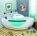 22'' Waterproof Sauna Room/Swimming pool TV HDMI USB  3