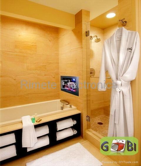 19英寸黑色防水浴室液晶电视 5