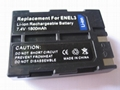 Battery for NIKON EN-EL3, EN-EL3a camera