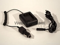 car charger and wall charger for Drift Innovation HD170 Stealth Camera battery