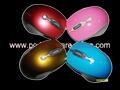 fashion 2.4Ghz  RF digital wireless mouse/cordless mice( mini receiver) 2