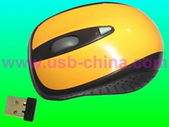 novelty 2.4G wireless mouse(nano mini receiver)-chinese manufacturer