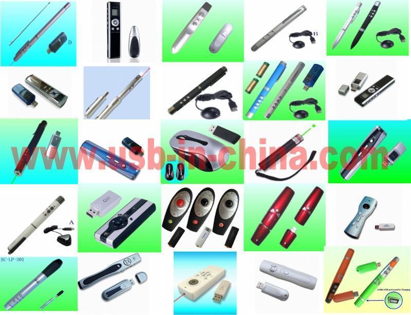 USB RC Laser Pointer(RF)/presentation tool/smart wireless presenter for ppt 1