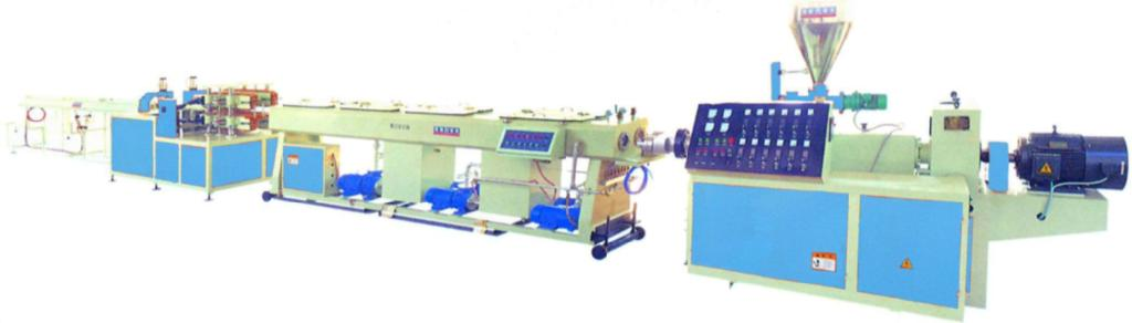 PVC conical screw extruder