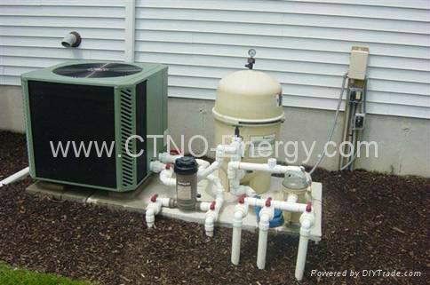 Swimming Pool Heat Pump Water Heater 1kw 2kw 3kw 1kw 2kw China Manufacturer Water