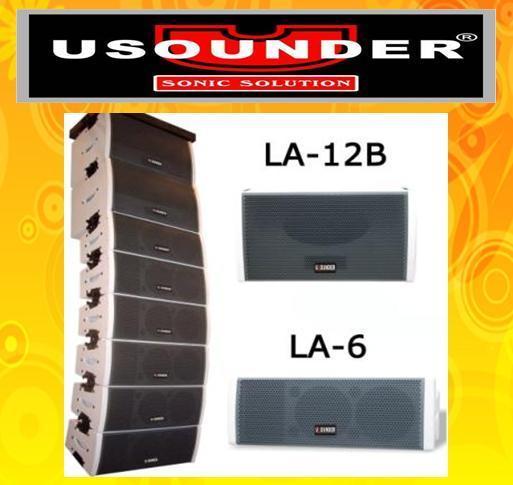 UAEF LA-6 Line Array loudspeaker 1