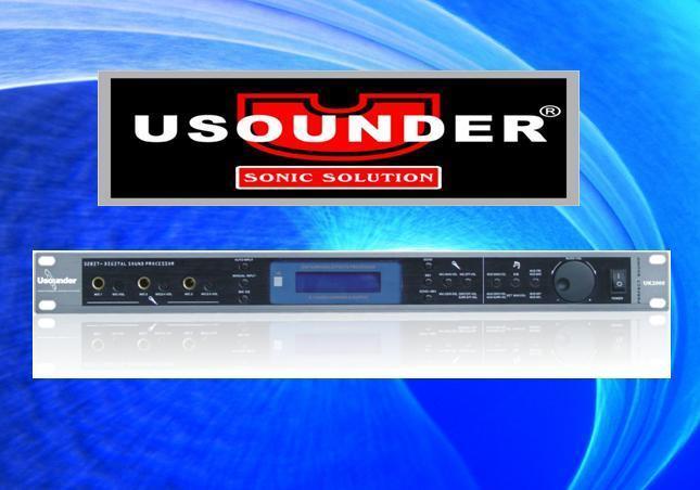 域声UK2602 专业DSP数字效果处理器 1