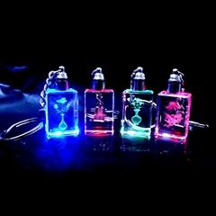 LED Crystal Keychain