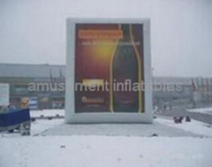 Inflatable screen Ads gas-screen advertising