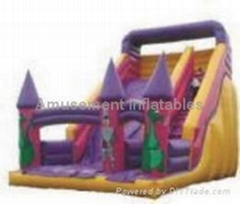 Inflatable Bouncers Slides Obstacles Tunnels