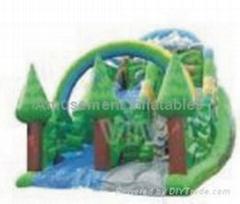 inflatable Combo slide bouncy