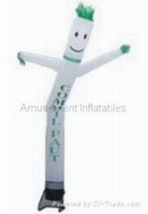 single leg air dancer
