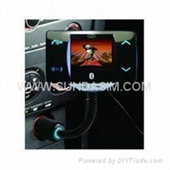 bluetooth car mp4 player
