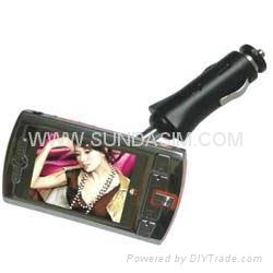 car mp4 player with 2.0 inch screen 1