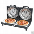 Double Pizza Maker  (Black)