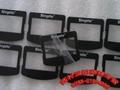 丝印磨砂PVC五金冲压标识垫片 丝印1MM厚PVC镜片铭牌标 3