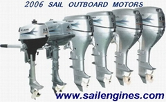 Sail Outboard Motors Sail Outboards  2.5hp to 15hp 4 Stroke Outboards