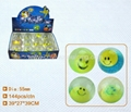 Hi Smiling Face LED Bouncing Water Ball
