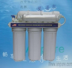 高配置带冲洗3+2超滤净水机,特价出售
