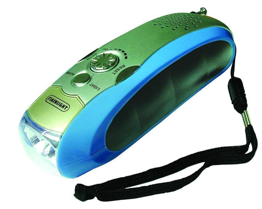 手搖發電環保電筒 1