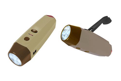 環保手搖電筒XC-252 1