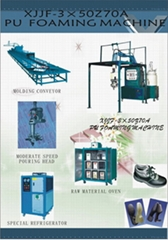 PU Soles And Shoes Machine