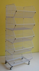 basket display ( supermarket display shelves)