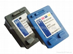 Ink Cartridges for HP Printers (HP C6656A/6657A)
