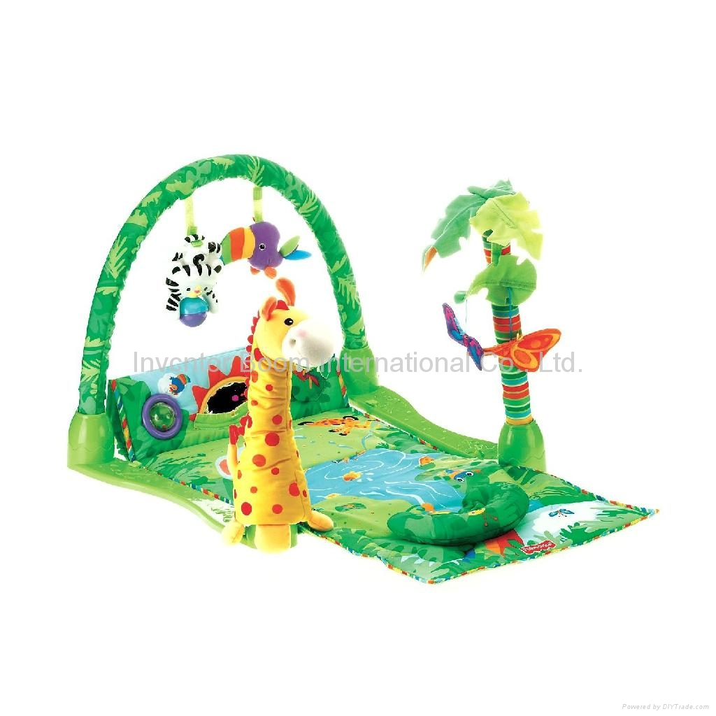 Fisher Price Rainforest 1 2 3 Musical Gym Fisher Price