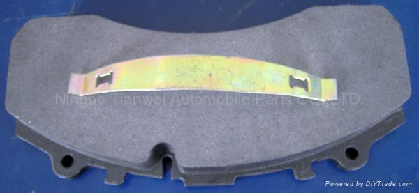 heavy vehicle brake pad 1