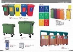 垃圾桶ˋ資源回收桶ˋ回收箱ˋ垃圾車系列