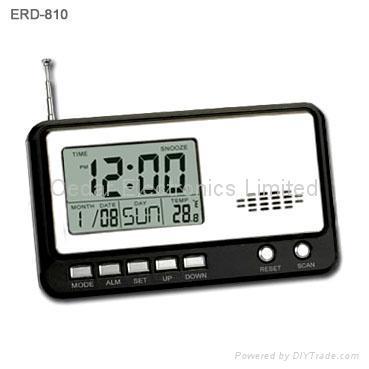 lcd calendar alarm clock radio eta 053 hong kong manufacturer radio recorder av. Black Bedroom Furniture Sets. Home Design Ideas