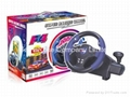 PS3, PS2, PC USB steering wheel