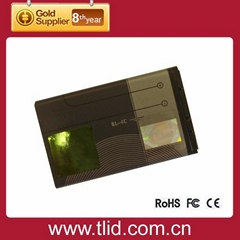 BL-4C for Nokia Li-ion copper mobile phone Battery