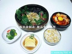 上海共荣韩国料理食品模型