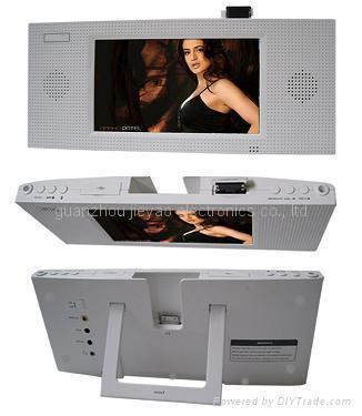 7寸支持IPOD多媒體播放器數碼相框 2