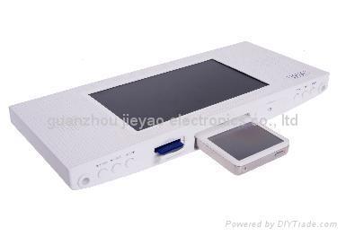 7寸支持IPOD多媒體播放器數碼相框 3