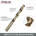 HSS Cobalt Drill Bits Fully Ground Din 338 1