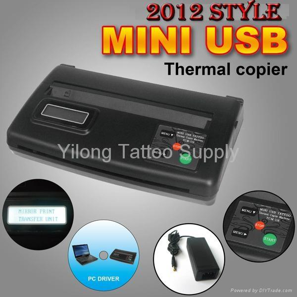 新款黑色迷你纹身转印机图片