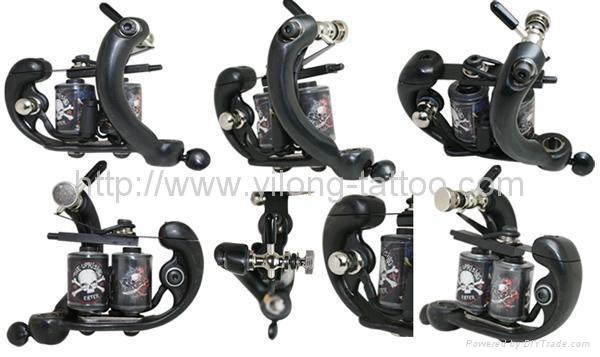 Tattoo machines and tattoo supplies from Time Machine Tattoo Supplies