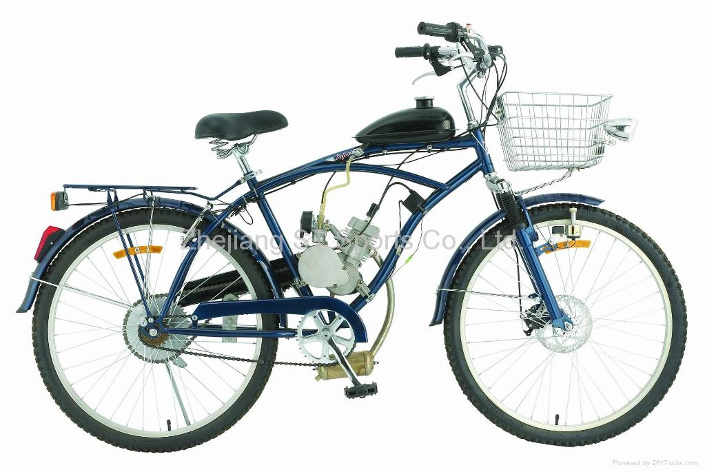 Fuel-Efficient Bicycle Engines: Gas Engine Kits Save Money on Gas