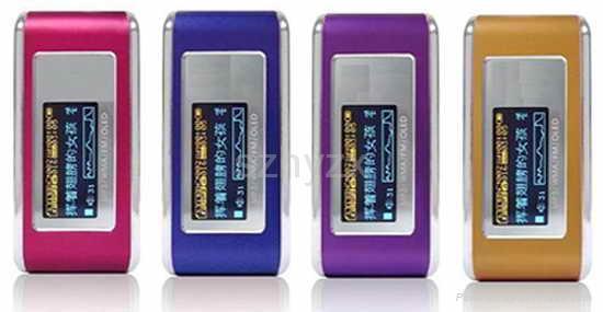 OLED display mp3 HY-600 1