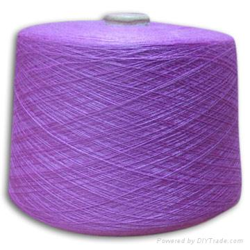 Wool/Nylon Blended Yarn 1