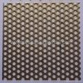 Perforated metal mesh plank