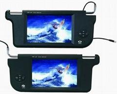 7/8/9 inch Sunvisor TFT CAR LCD Monitor